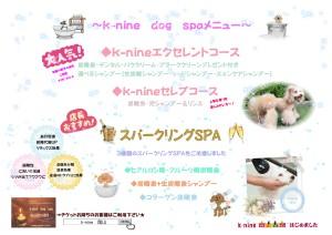k-nine通信12月号☆